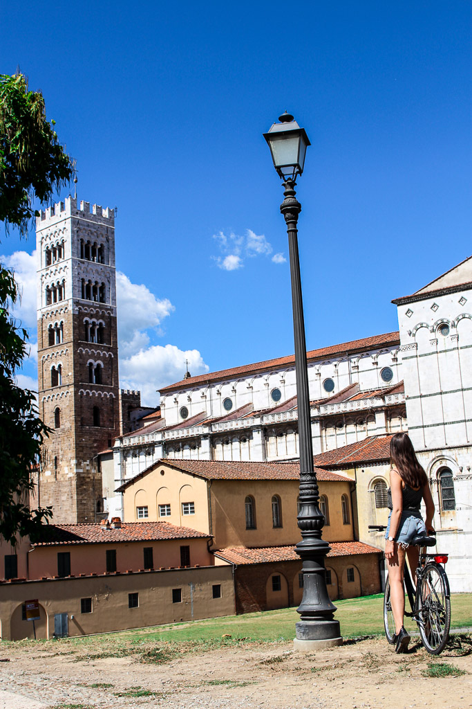 Lucca biking A summary of my trip backpacking through Italy. 5 Italians cities in 12 days.