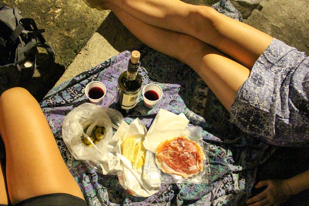 Riomaggiore Cinque terre Italy cheese wine olives