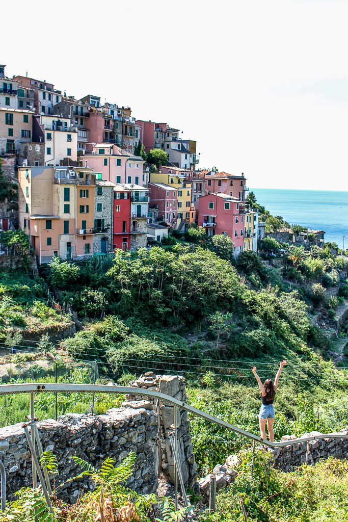 Cinque Terre Manarola A summary of my trip backpacking through Italy. 5 Italians cities in 12 days.