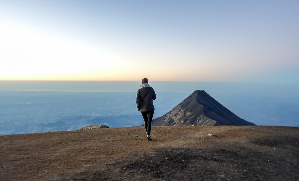 Climbing Volcano Acatenango Fuego Antigua Guatemala