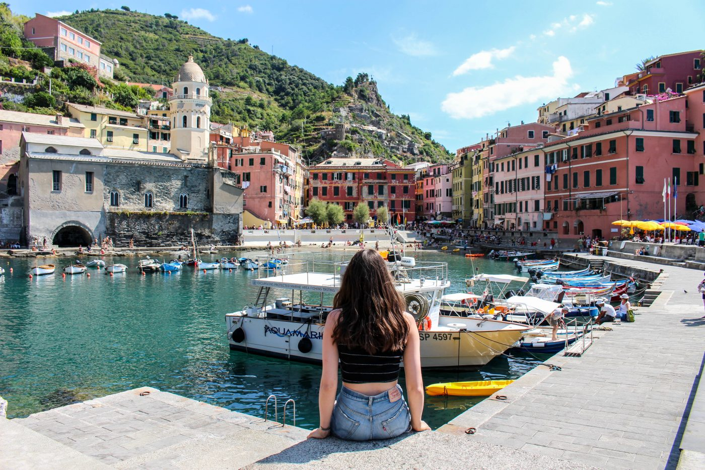 Vernazza Harbor View A Short Guide to Cinque Terre