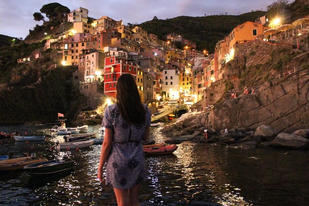 Riomaggiore Cinque terre Italy Harbor