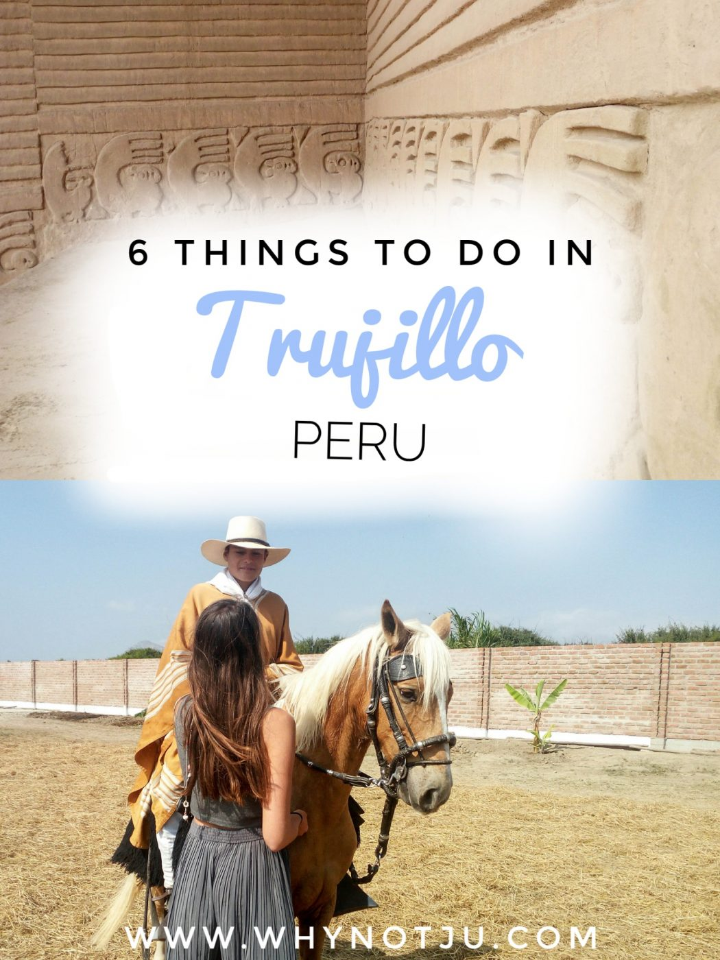 Trujillo in the north of Peru, has much to offer. Such as beach, surf and pre-inca ruins close by. Here are 6 things to do in Trujillo.