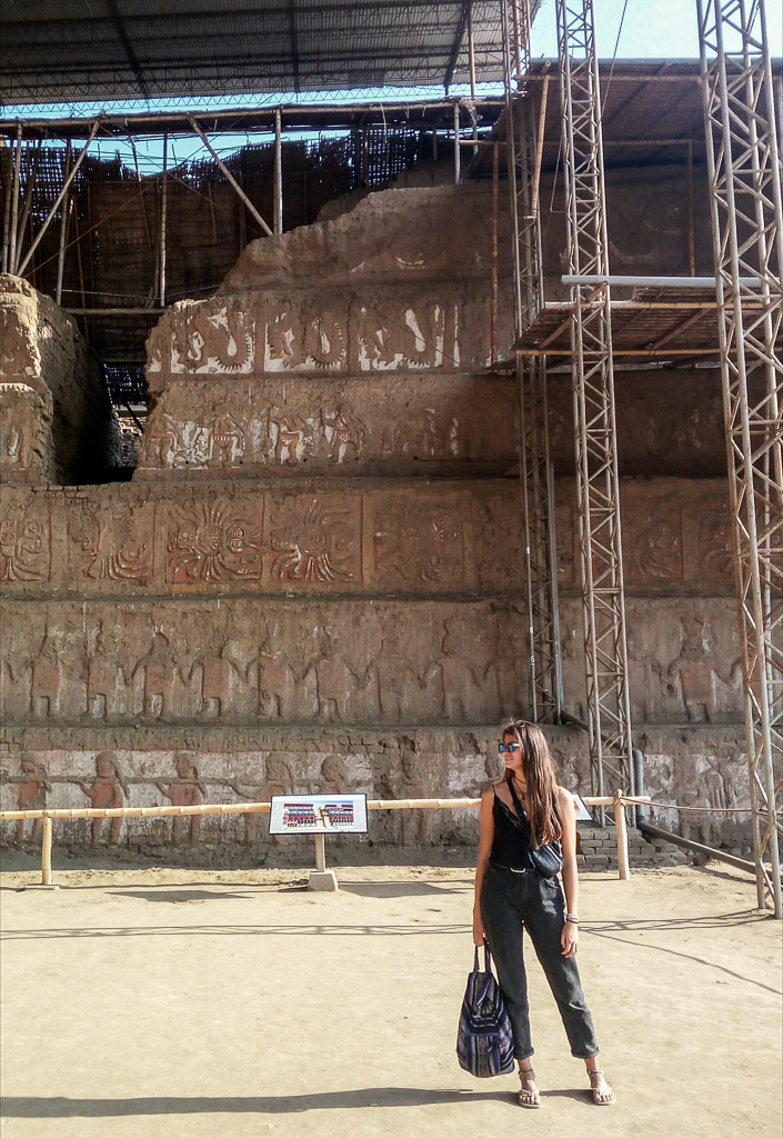 Huaca de la Luna temple Trujillo in the north of Peru, has much to offer. Such as beach, surf and inca ruins close by. Here are 6 things to do in Trujillo.