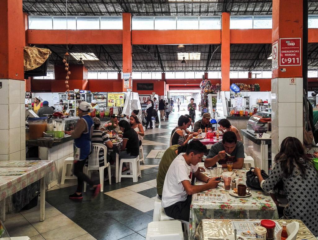 Market Things to do in Baños Ecuador mercado