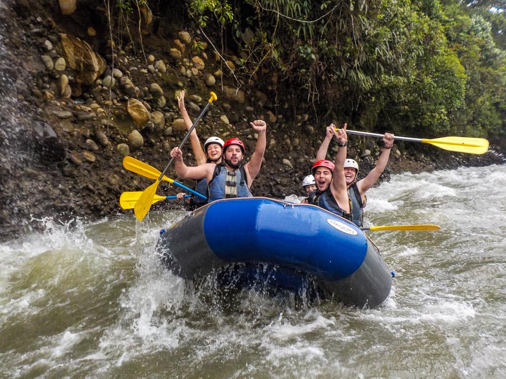 Baños Ecuador Rafting