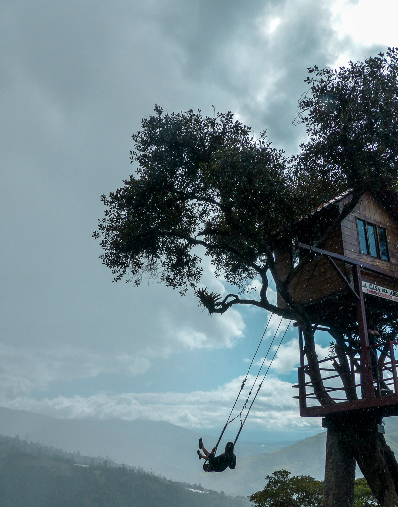 Things to do in Baños -  Casa del Arbol -  end of the world swing