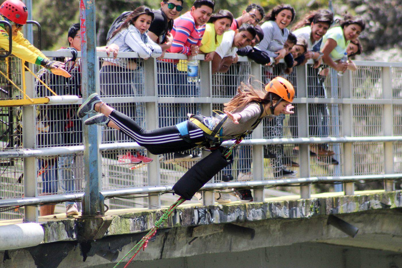 Baños Swing Jump Ecuador