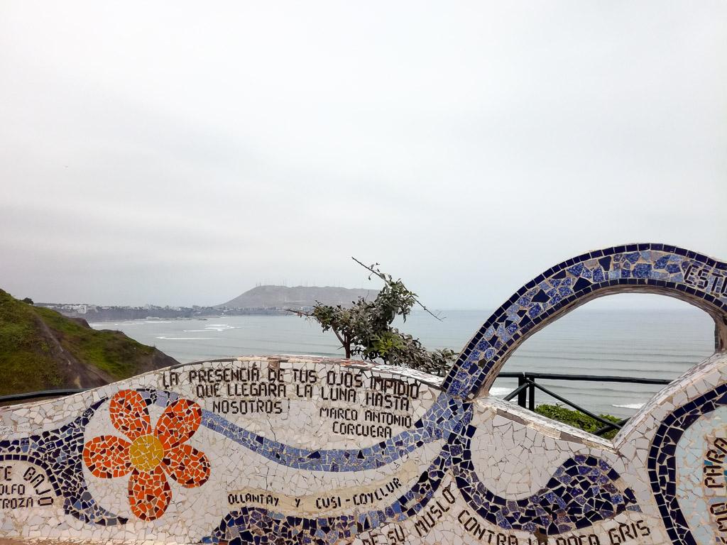 Miraflores Peru Lima Parque del amor