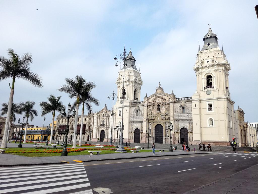 Lima Peru Historic Center Backpacker Guide