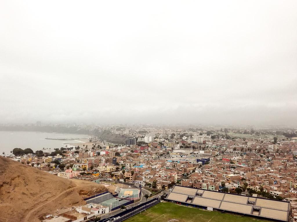 Lima travelguide Peru Churrios Hill District
