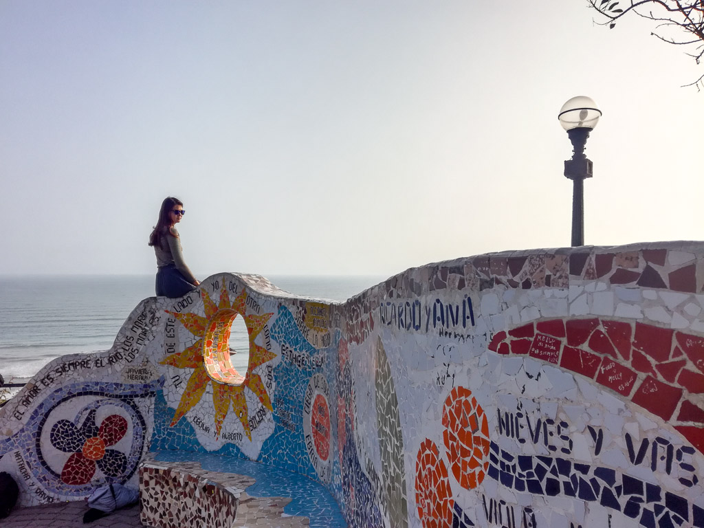 Lima Peru Backpacking Guide Miraflores Parque del Amor