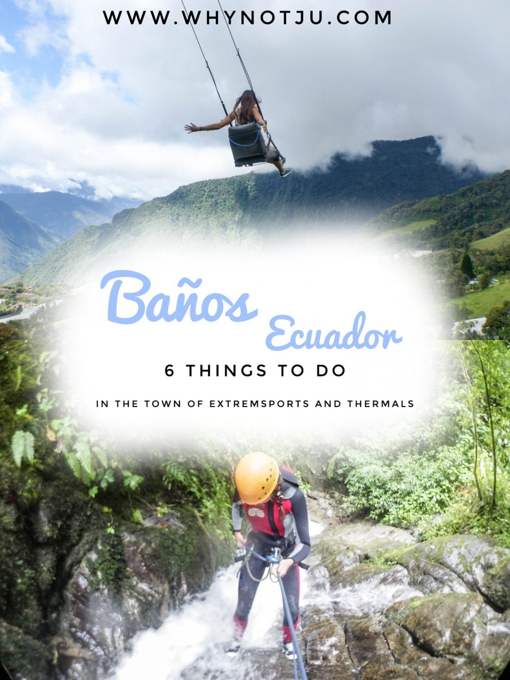 Casa del Arbol Ecuador Pinterest Things to do in Baños - A short guide to things to do in Baños. From checking out waterfalls, canopying and swinging on a swing with wonderful view over the area.
