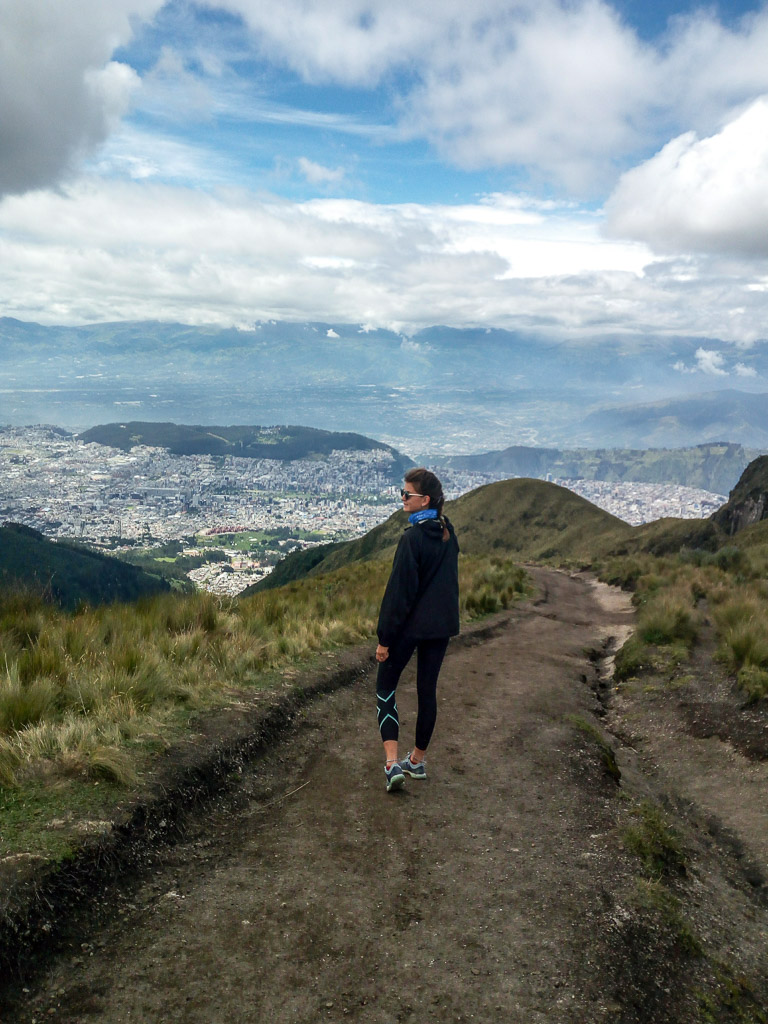volcano Pichincha Ecuador Quito Hiking