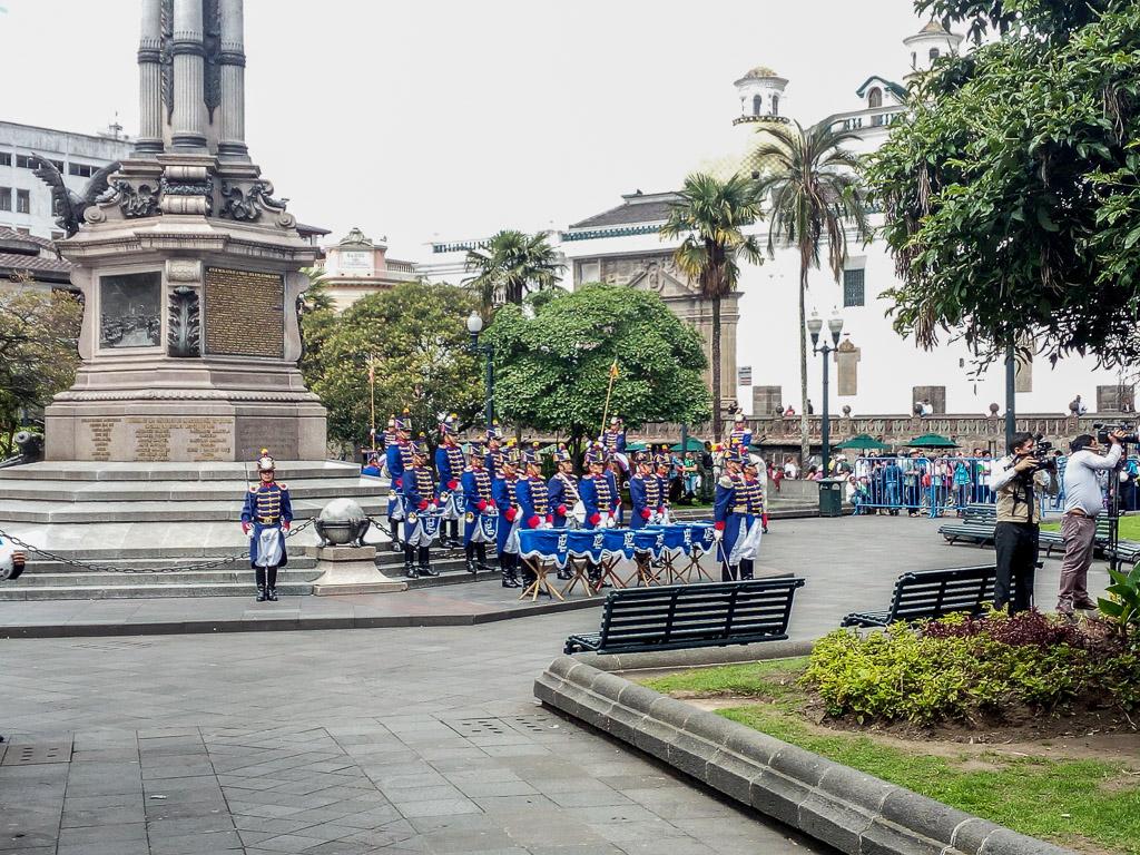 Plaza de Inteligencia Quito historic centre Ecuador