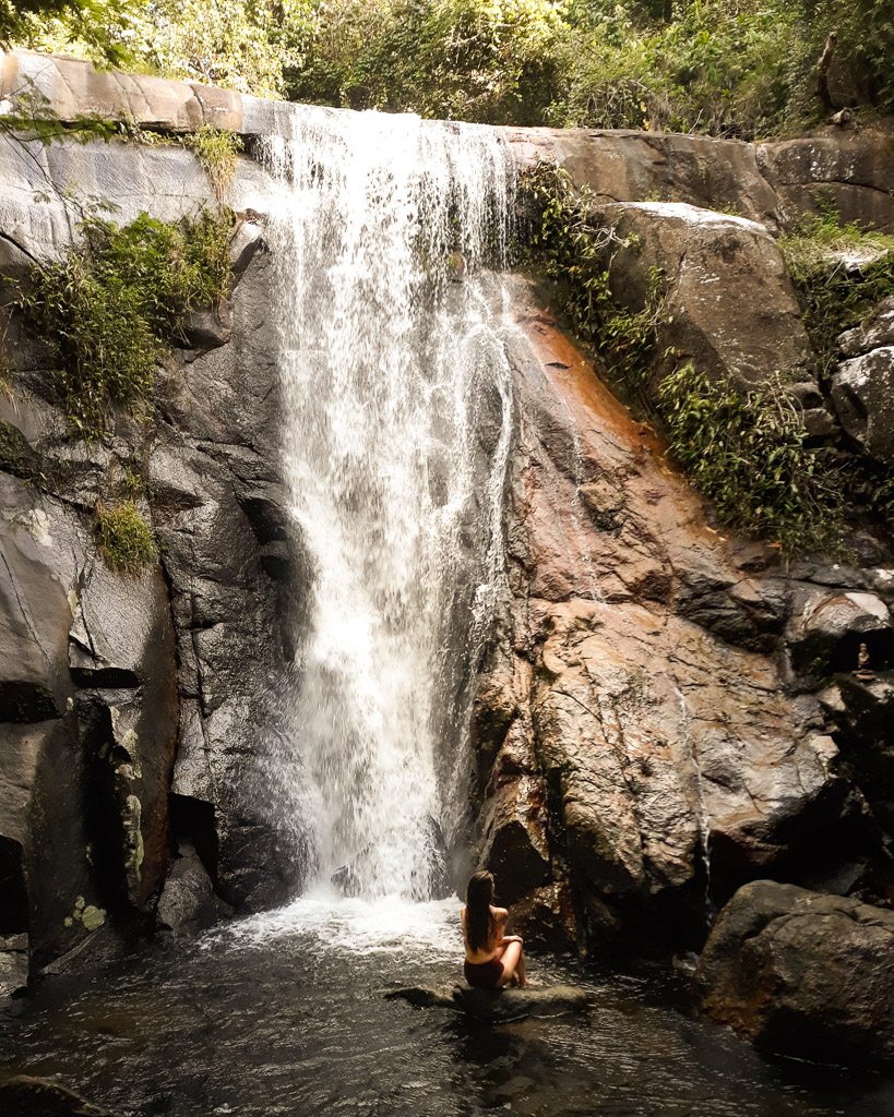 Brasil Ilha Grande on a Backpacker budget Cachoeira Da Feiticeira